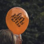 A Memorial Balloon Release